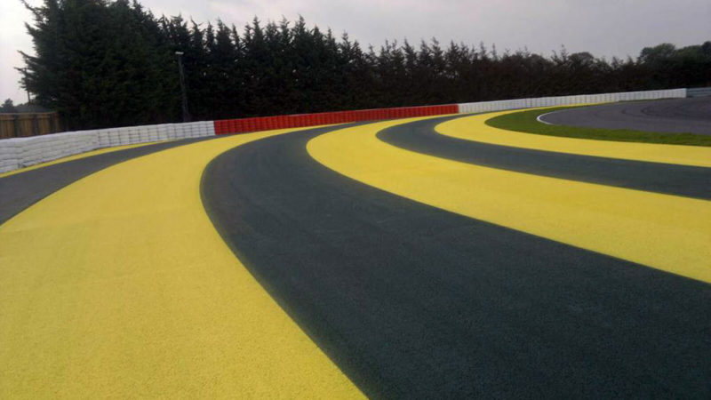 Track Markings Lotus