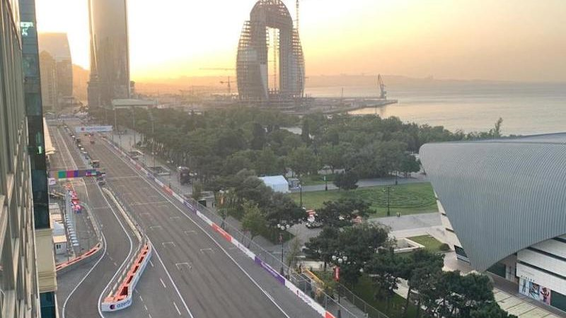 Azerbaijan F1 GP circuit