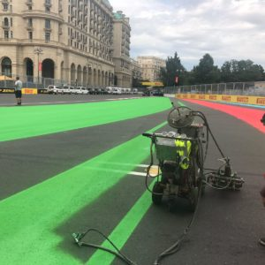 Baku Race Circuit Design