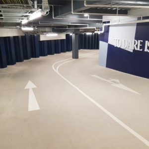 Car park marking Spurs