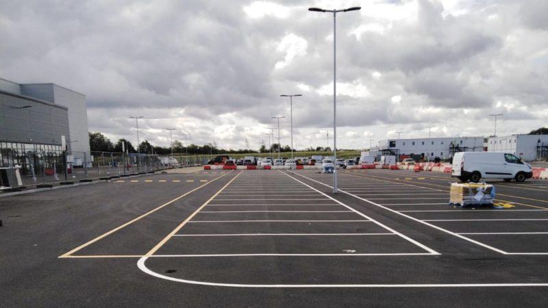 Car park marking contractors