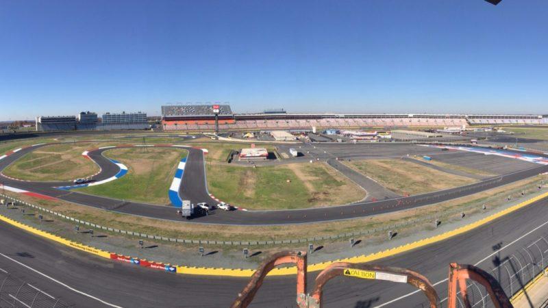 Charlotte Speedway Track Marking