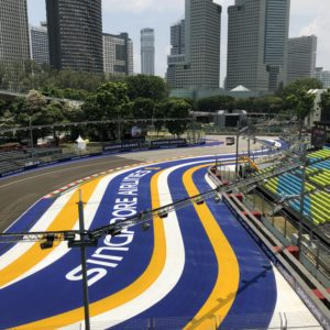 Circuit Marking Grand Prix Singapore
