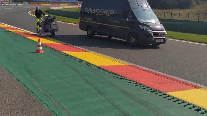 F1 GP Track painting Roadgrip Spa