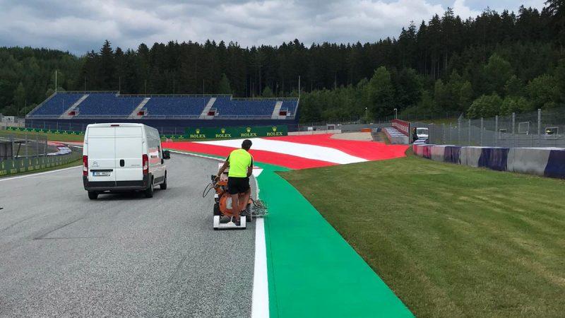 F1 Track Design Roadgrip Red Bull