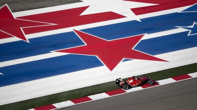F1 US GP Roadgrip road marking