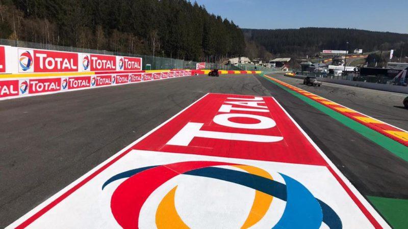 F1 track branding roadgrip