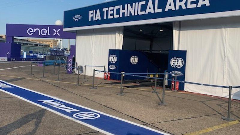 FIA line marking roadgrip
