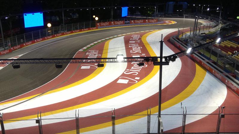 motorsport track branding