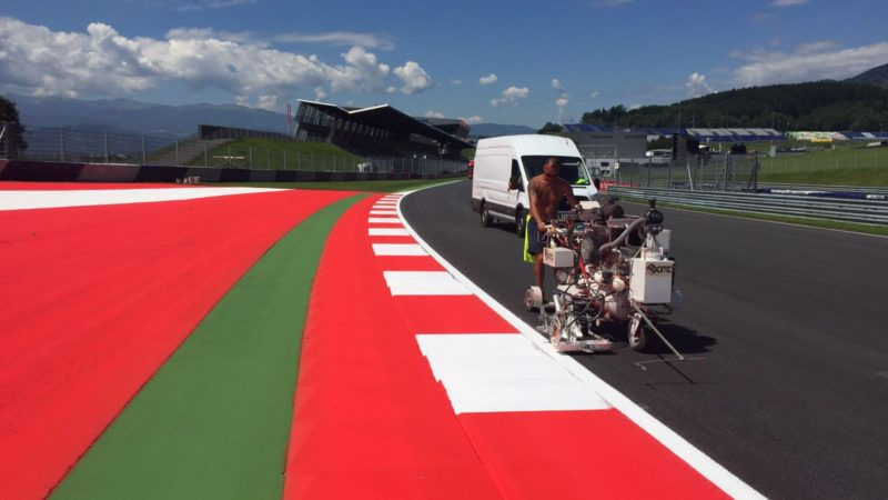 Line Marking Red Bull Ring