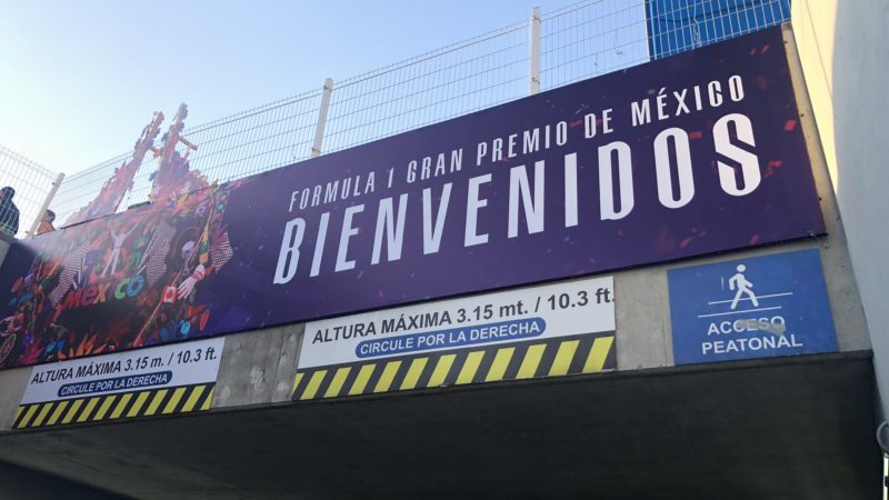 Mexico F1 GB 2018 Sign