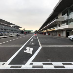 Mexico Grand Prix Track Markings