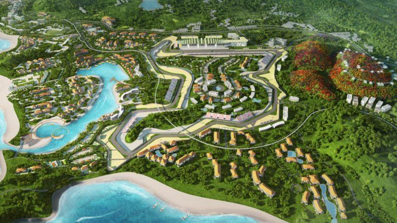 MotoGP Lombok Circuit Concept