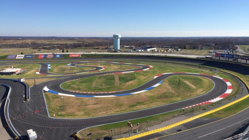 NASCAR track painting by Roadgrip