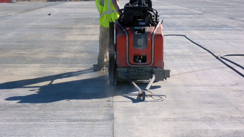 runway concrete repair
