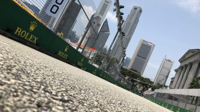 Race Circuit Surface Singapore