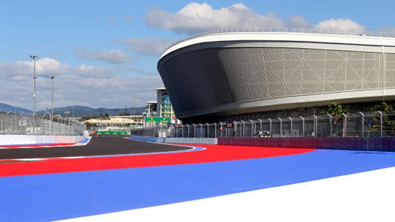 Russia Sochi Track Design