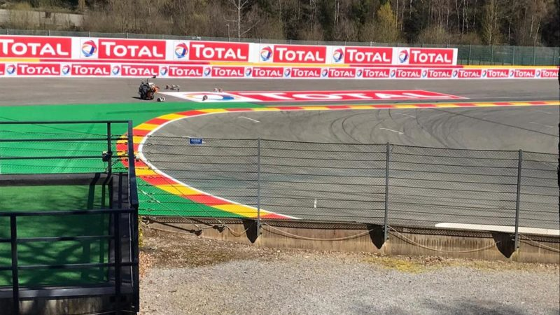 Spa Francorchamps Painting
