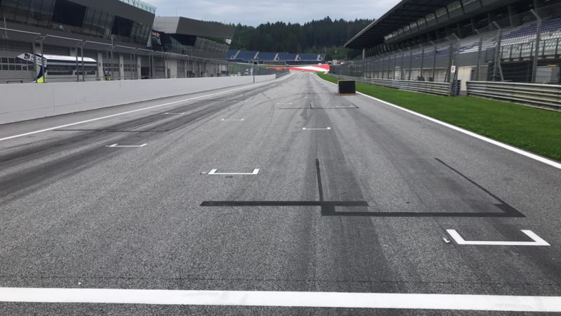 Track Markings Austria