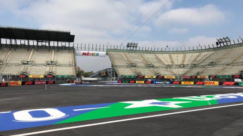 Track Markings Mexico Grand Prix