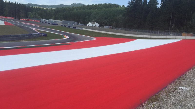 Track Markings Red Bull Ring