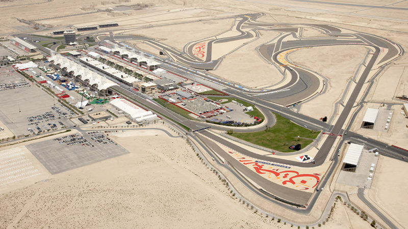 Bahrain F1 track design Roadgrip