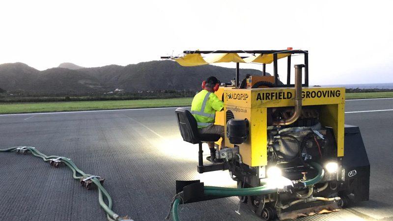 airfield grooving