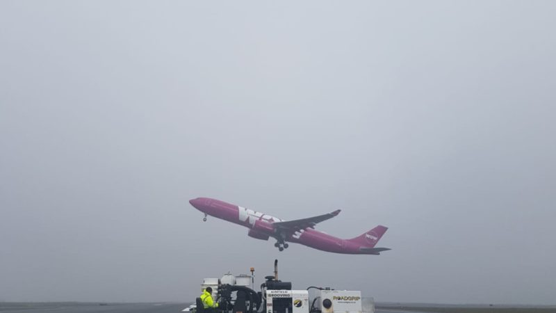 airfield grooving machine Iceland