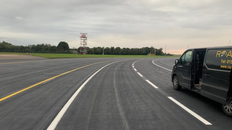 airfield line marking roadgrip