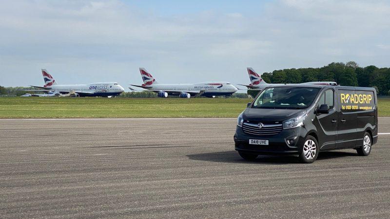 airfield maintenance roadgrip