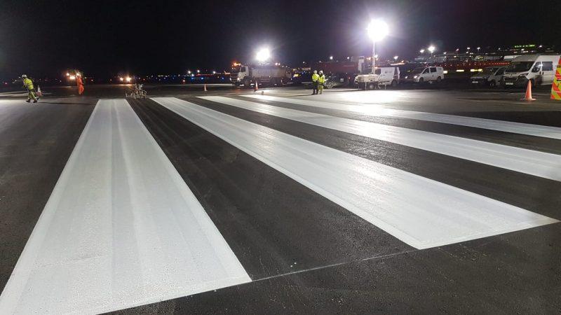 airfield markings piano keys
