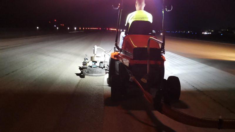 airfield rubber removal aruba