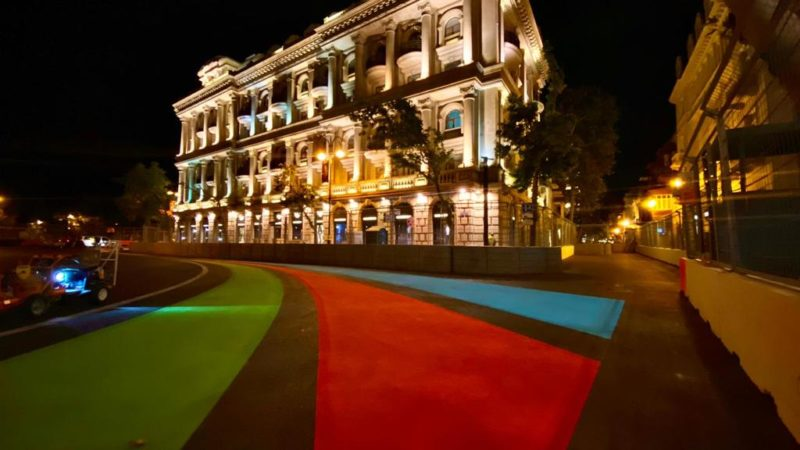 azerbaijan grand prix circuit design