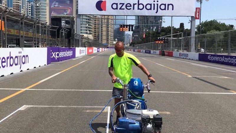 azerbaijan track painting roadgrip