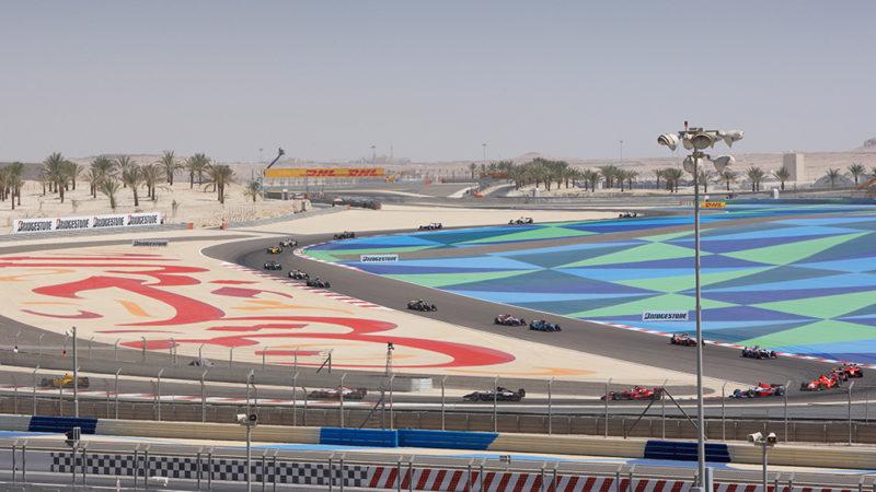 bahrain track painting