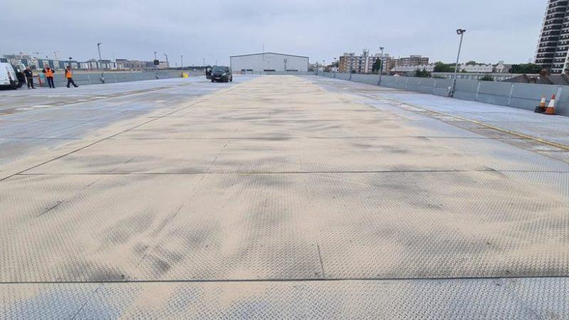 car park coating preparation roadgrip