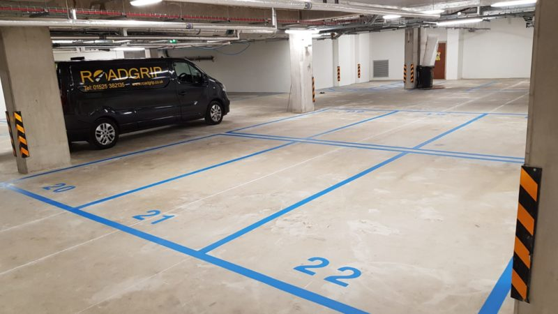 car park lining Roadgrip