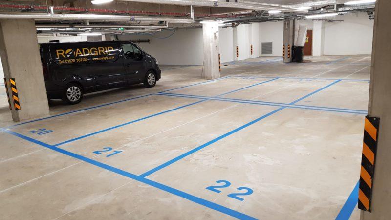car park lining Roadgrip