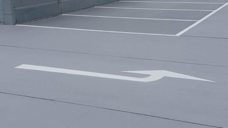 car park marking roadgrip