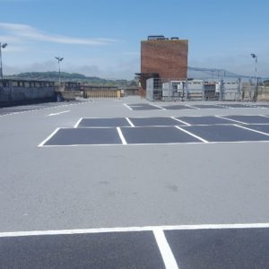 car park refurbishment coop isle wight