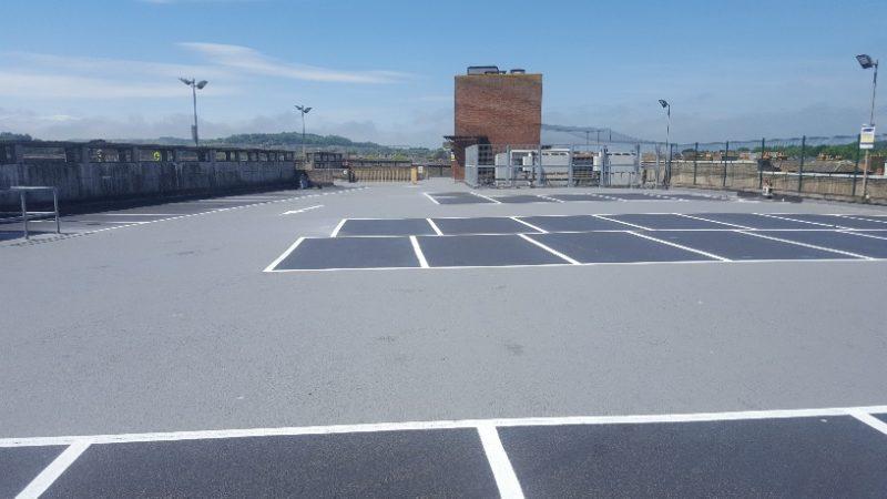 car park refurbishment coop isle wight
