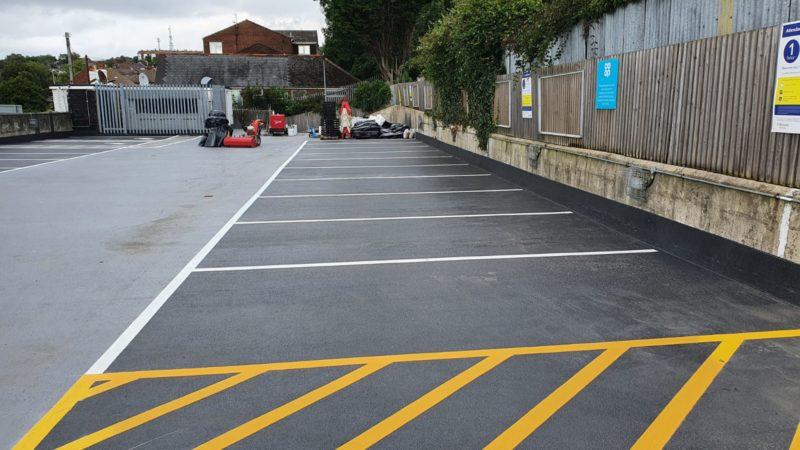 car park refusbishment hastings