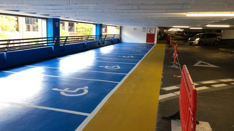 car park resin coatings