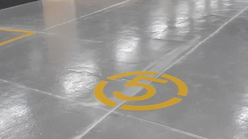 car park waterproof flooring