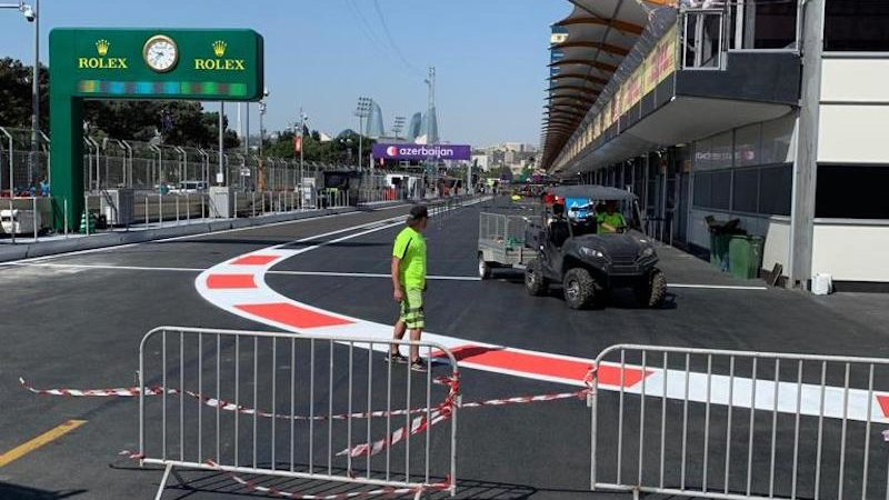 circuit marking roadgrip azerbaijan