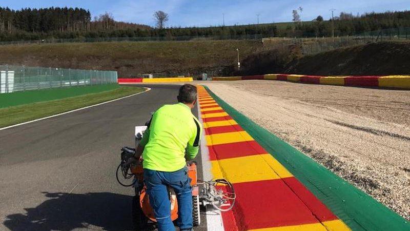 circuit painting roadgrip