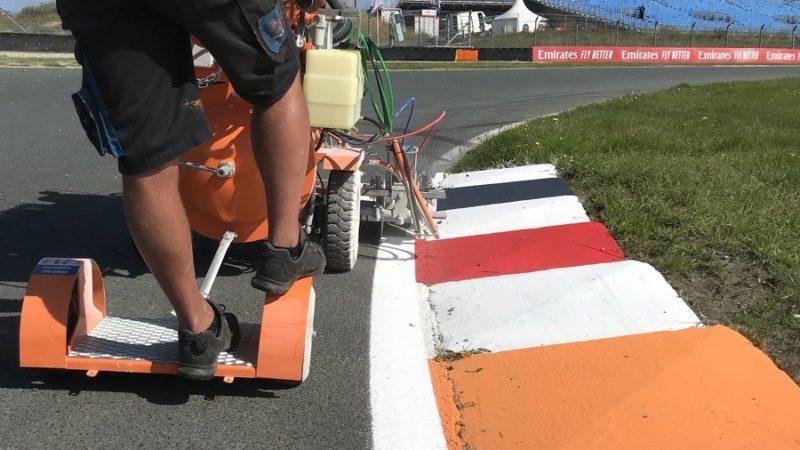 circuit painting roadgrip holland