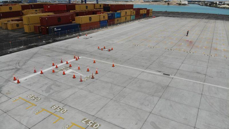 concrete repair joint sealing port