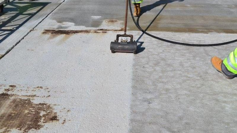 falklands roadgrip runway resurfacing