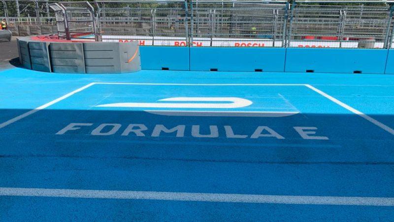 formula e track painting roadgrip